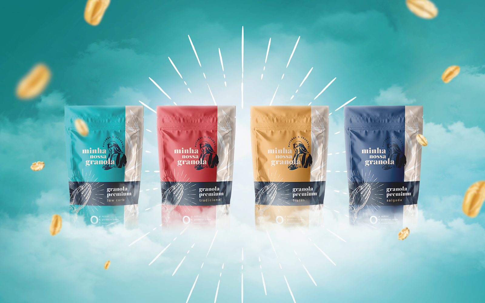 麦片包装袋设计